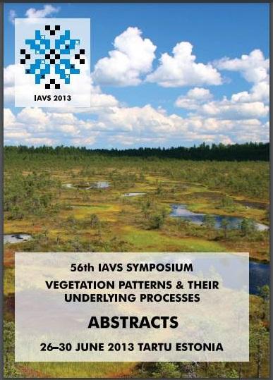DiverSus in the IAVS 2013 Annual Symposium