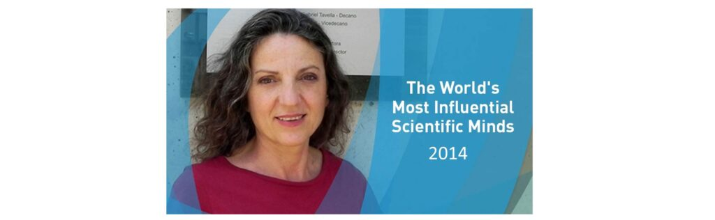 Prof. Sandra Díaz featured in Highly Cited Researchers 2014 list